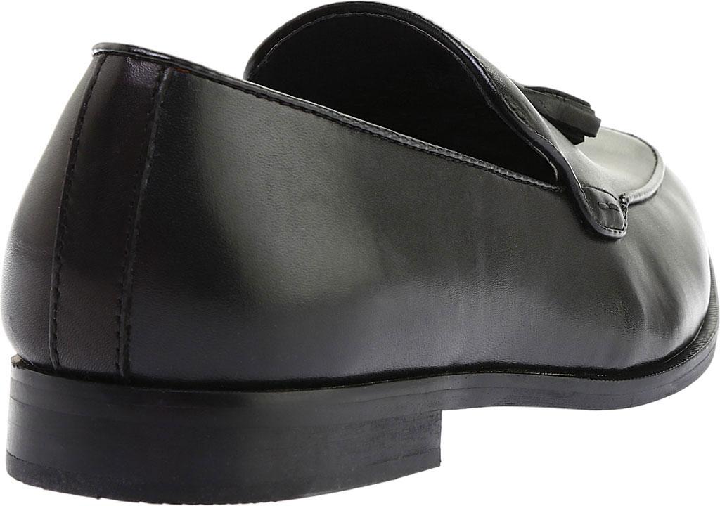 Men's Steve Madden Emeree Tassel Loafer, Black Leather, large, image 4