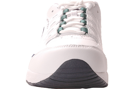 Women's Easy Spirit Romy Walking Shoe, White Multi Leather, large, image 4