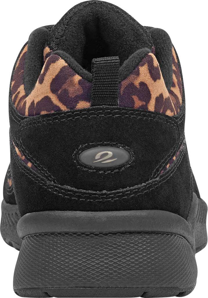 Women's Easy Spirit Romy Walking Shoe, Black Suede/Fabric, large, image 3