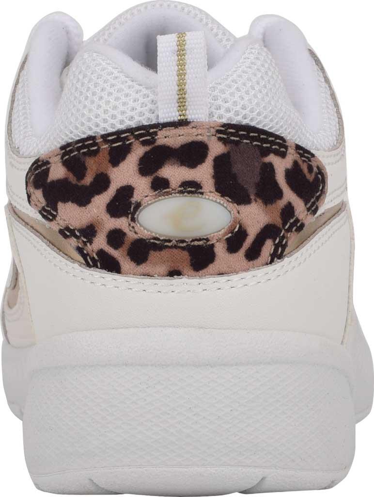 Women's Easy Spirit Romy Walking Shoe, White/White Leather/Fabric, large, image 3