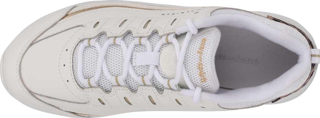 Women's Easy Spirit Romy Walking Shoe, White/White Leather/Fabric, large, image 4