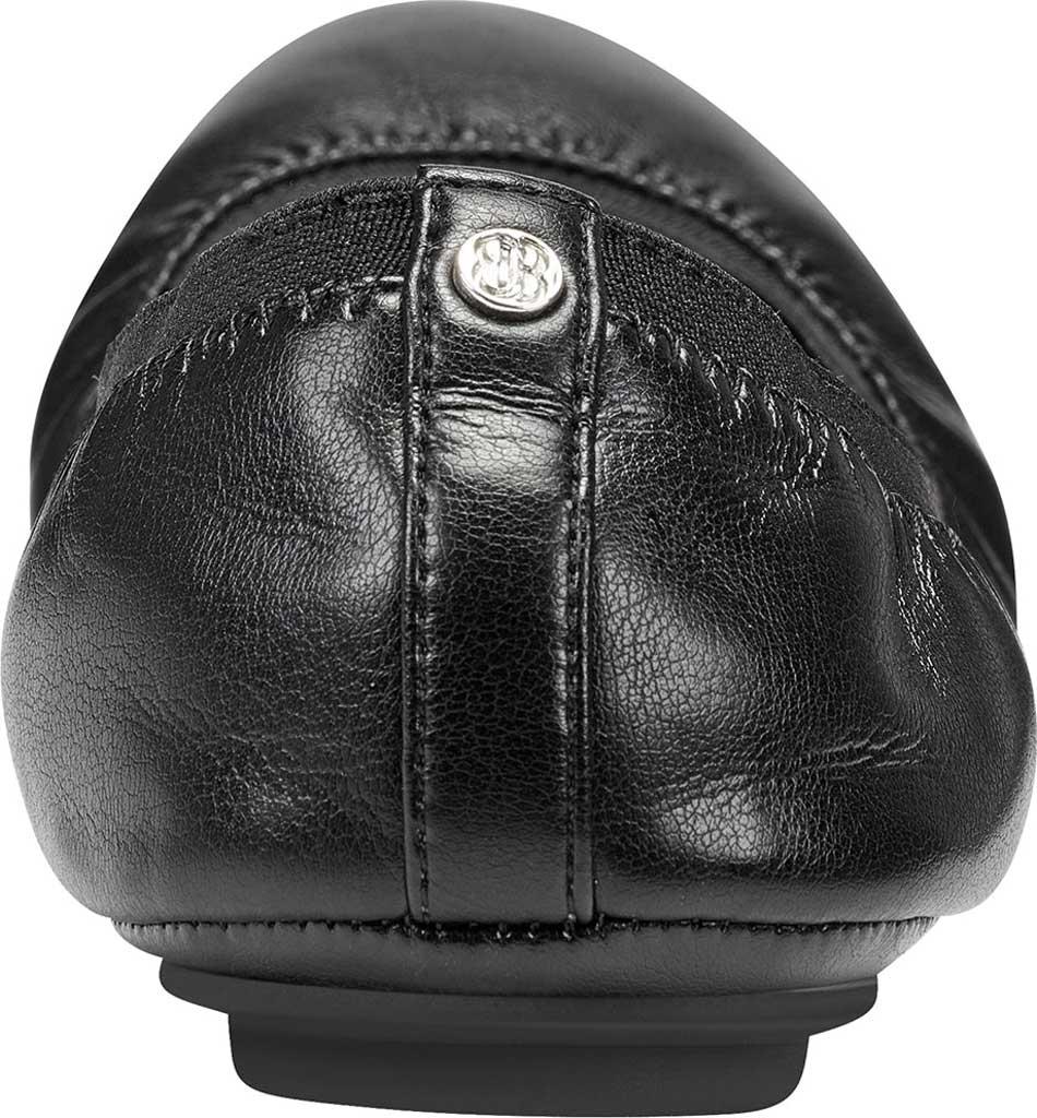 Women's Bandolino Edition, Black Soft Gathered Leather PU/Sleek Elastic, large, image 3