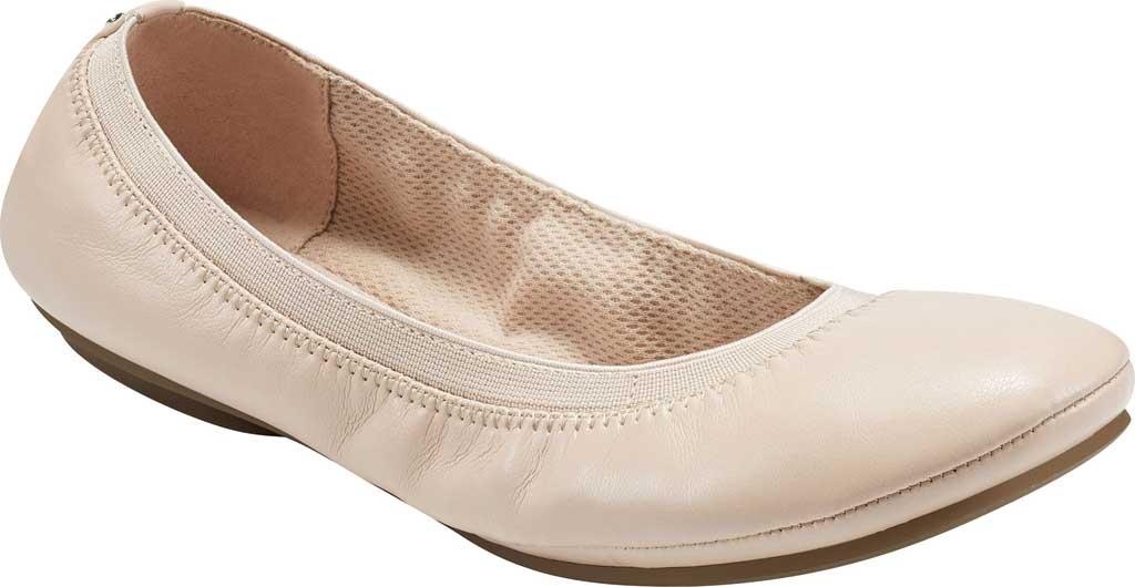 Women's Bandolino Edition, Light Nude Soft Gathered Leather PU/Sleek Elastic, large, image 1