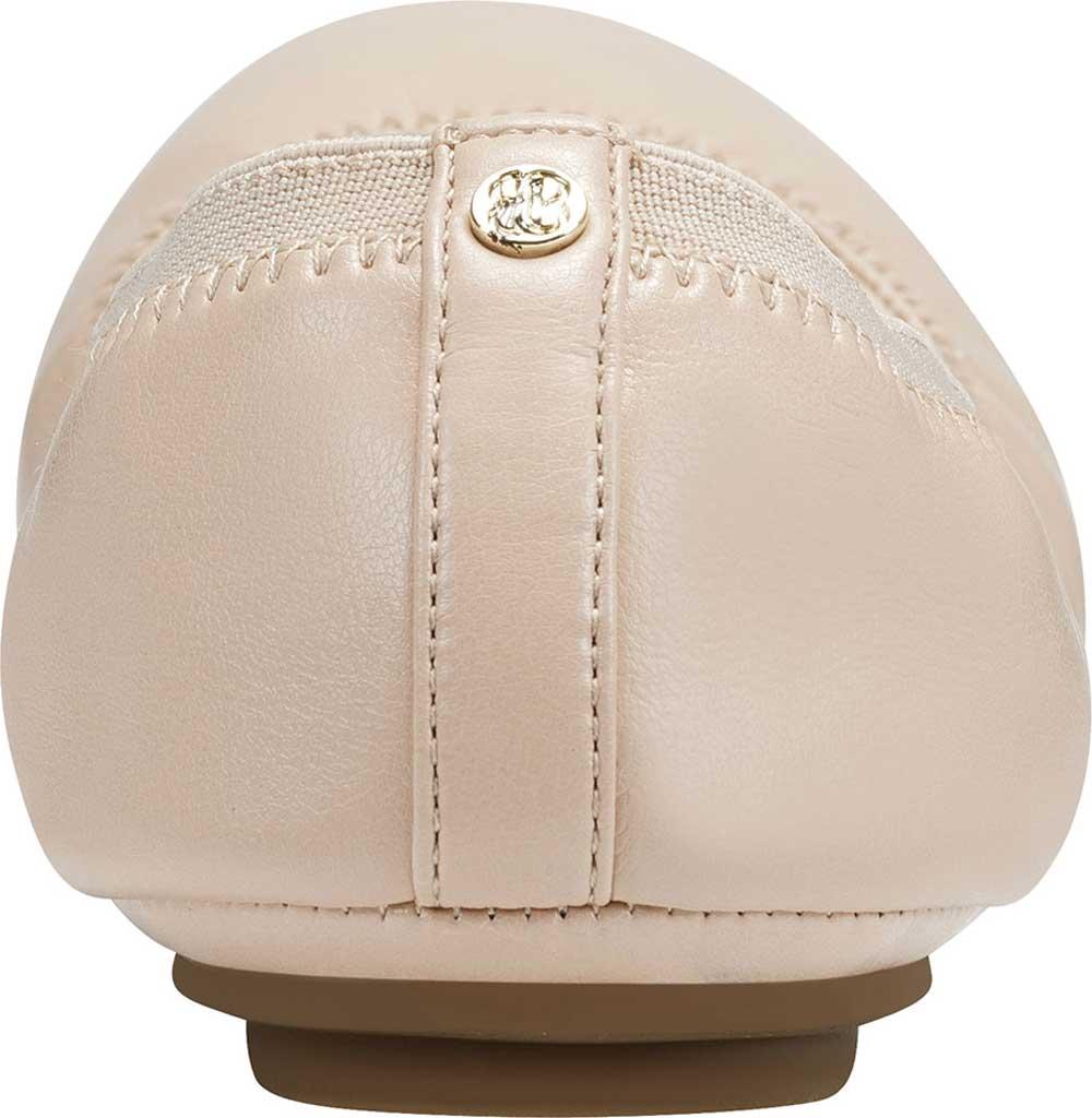 Women's Bandolino Edition, Light Nude Soft Gathered Leather PU/Sleek Elastic, large, image 3