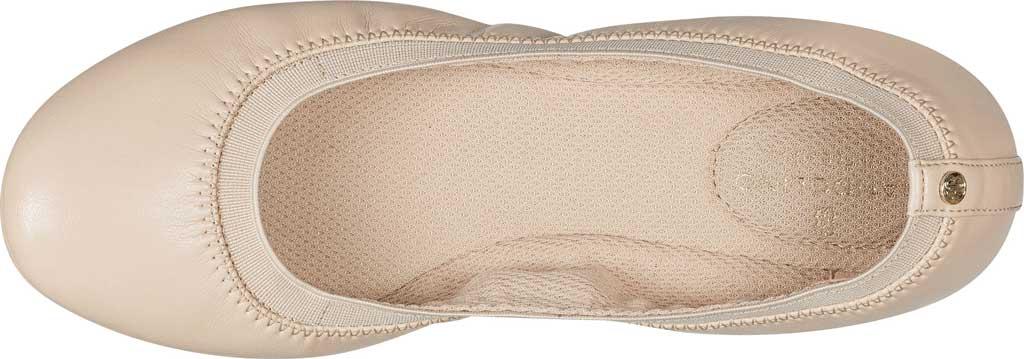 Women's Bandolino Edition, Light Nude Soft Gathered Leather PU/Sleek Elastic, large, image 4