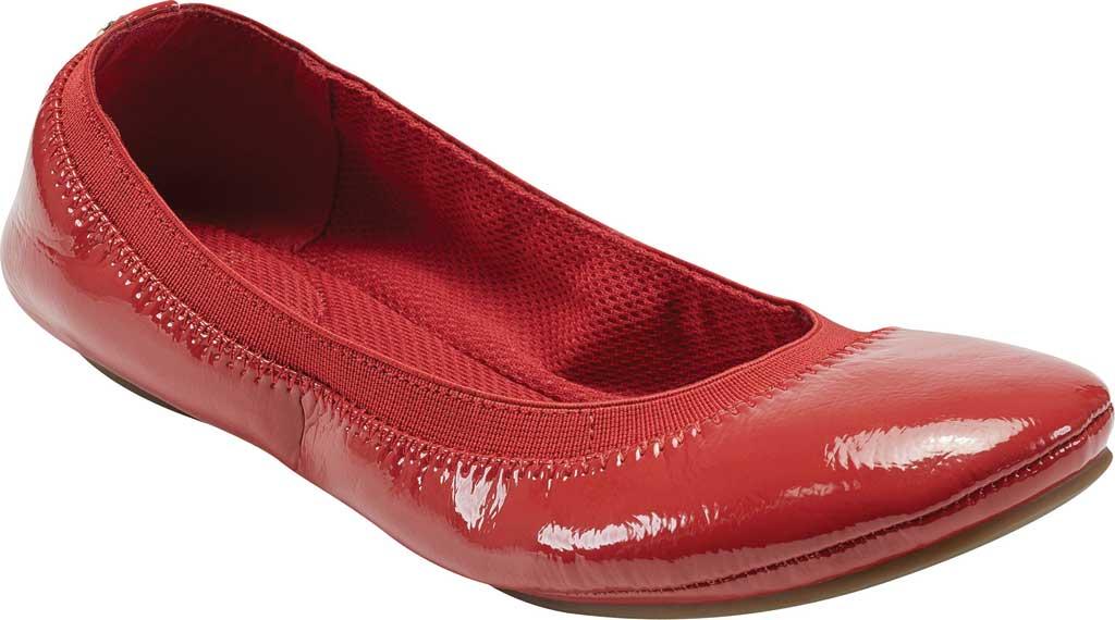 Women's Bandolino Edition, Red Summer Patent PU/Sleek Elastic, large, image 1