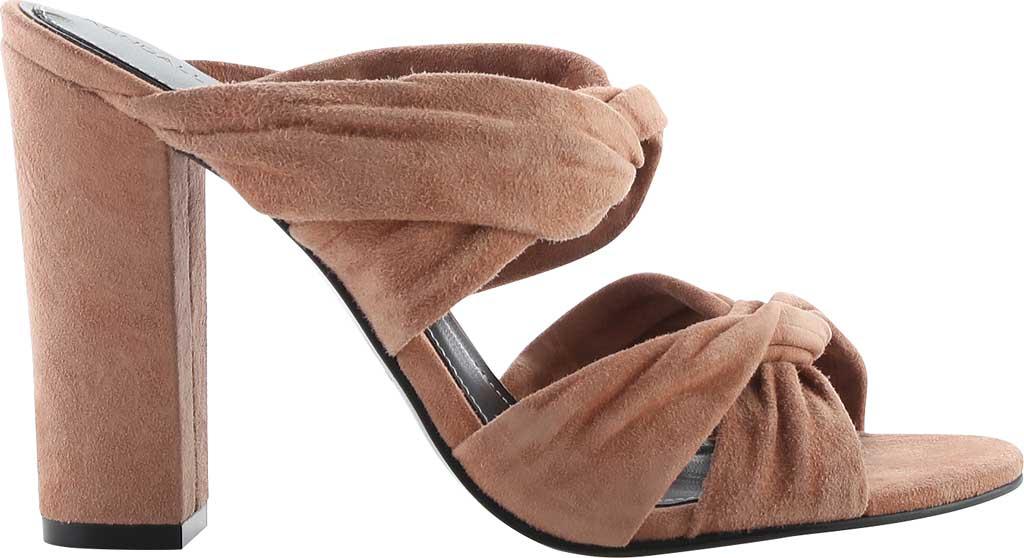 Women's Kendall & Kylie Demy Suede Block Heel Slide, New Light Rust FH Kid Suede, large, image 1
