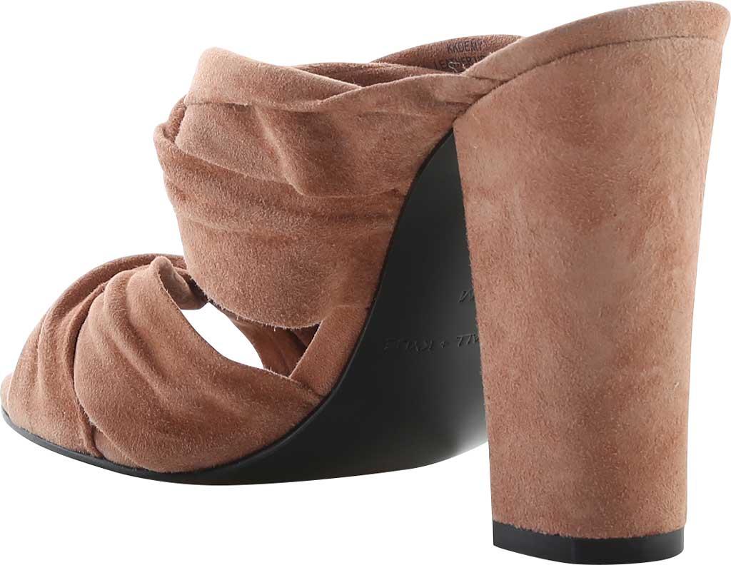 Women's Kendall & Kylie Demy Suede Block Heel Slide, New Light Rust FH Kid Suede, large, image 2