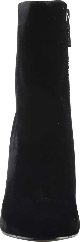 Women's Kendall & Kylie Kaden Glitter Heel Velvet Bootie, Black Velvet, large, image 3