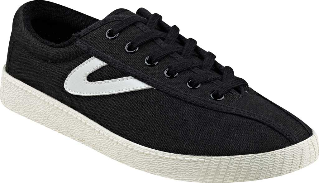 Women's Tretorn NylitePlus Sneaker, Black/White Denim, large, image 1