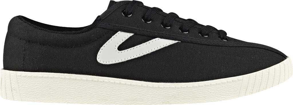 Women's Tretorn NylitePlus Sneaker, Black/White Denim, large, image 2