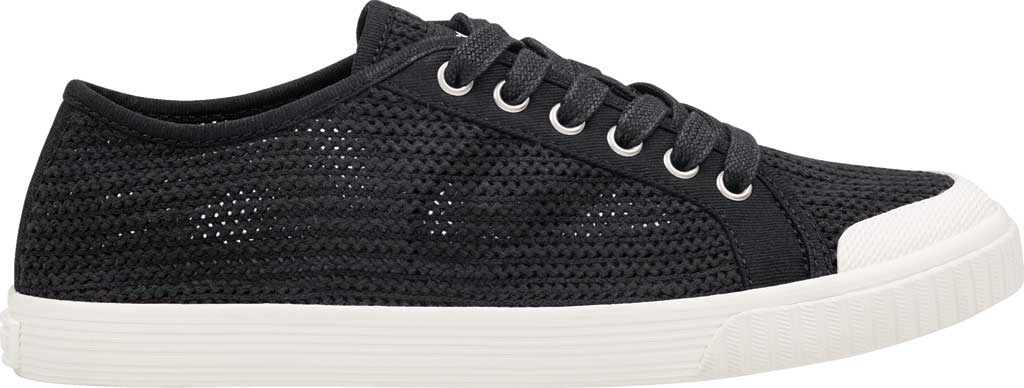Women's Tretorn Tournet Cotton Net Sneaker, Black, large, image 2