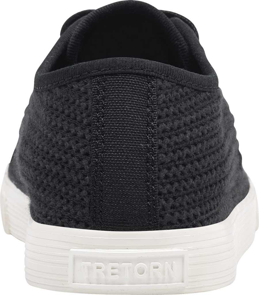 Women's Tretorn Tournet Cotton Net Sneaker, Black, large, image 3