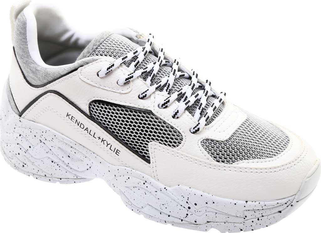 Women's Kendall & Kylie Focus 2 Sneaker, White Multi Fabric, large, image 1