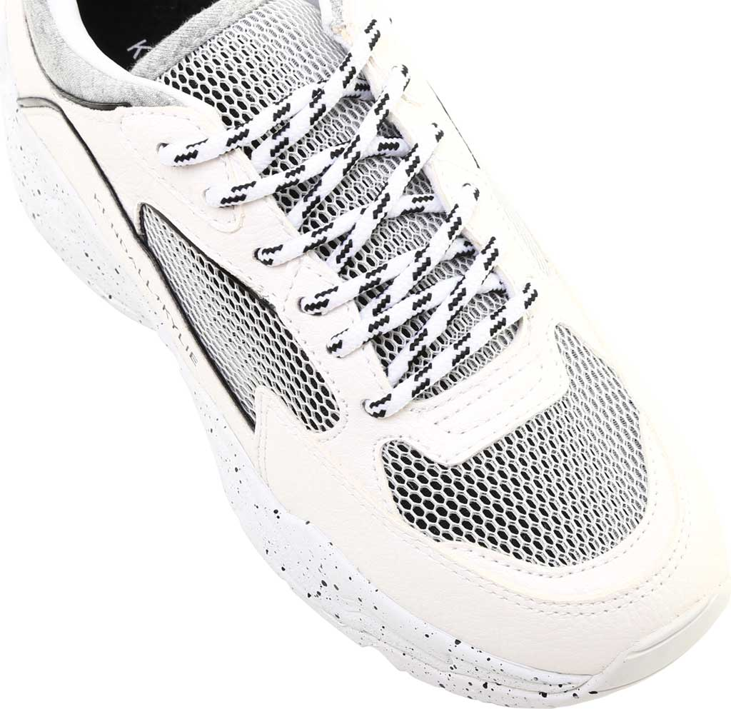 Women's Kendall & Kylie Focus 2 Sneaker, White Multi Fabric, large, image 5