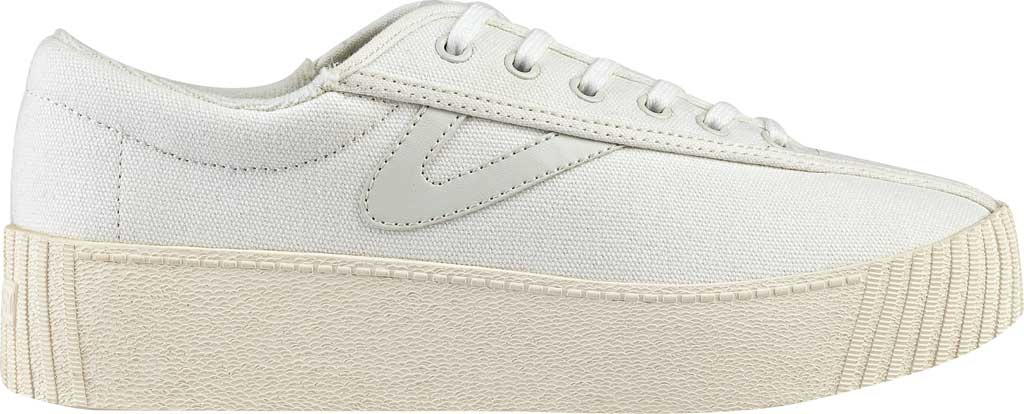 Women's Tretorn NyliteBold Sneaker, Vintage White Fabric, large, image 2