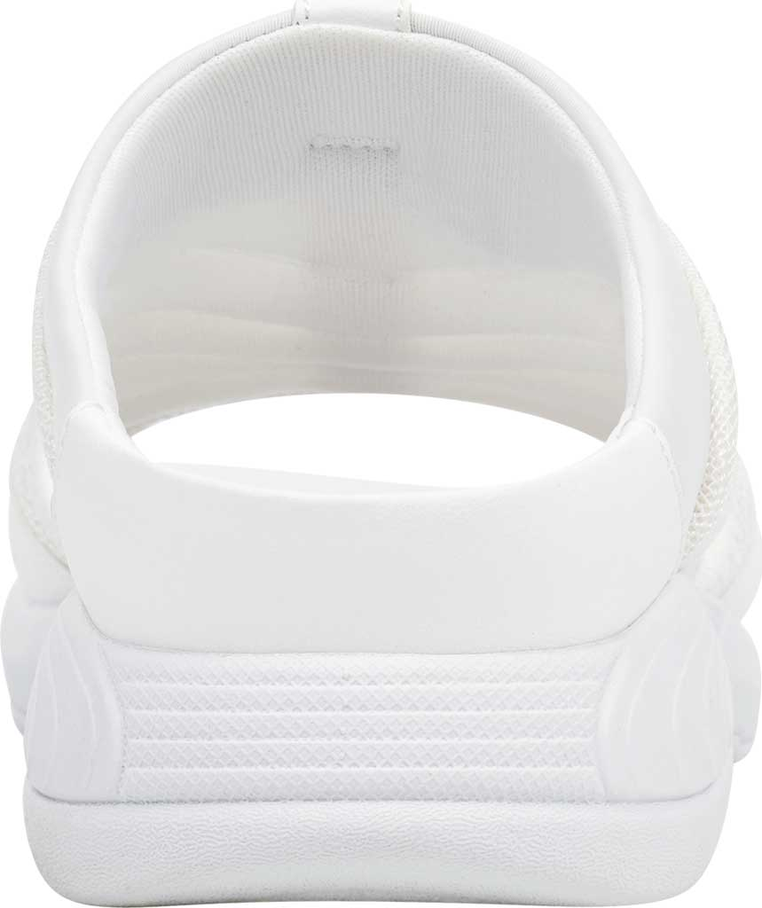 Women's Easy Spirit Traciee Slide, White Fabric/Synthetic, large, image 3