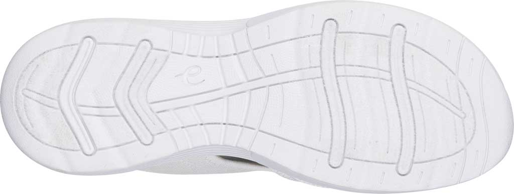 Women's Easy Spirit Traciee Slide, White Fabric/Synthetic, large, image 5