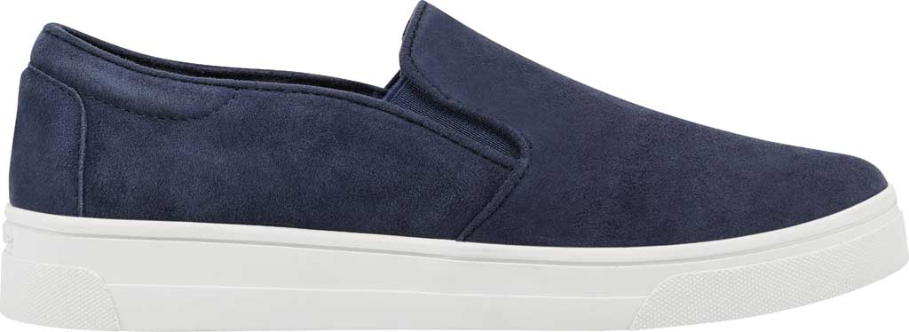 Women's Easy Spirit EVOLVE Lack Sneaker, Blue Suede/Stretch Elastic, large, image 2