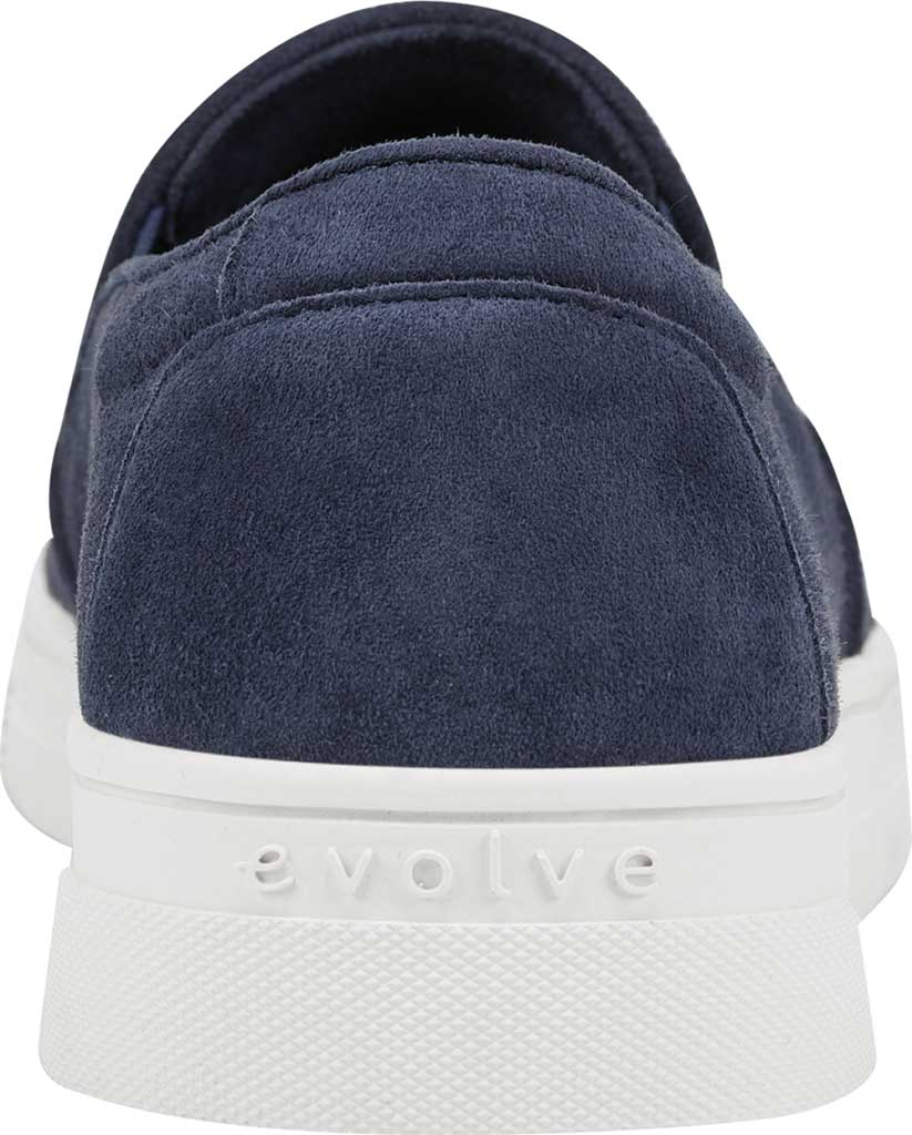 Women's Easy Spirit EVOLVE Lack Sneaker, Blue Suede/Stretch Elastic, large, image 3
