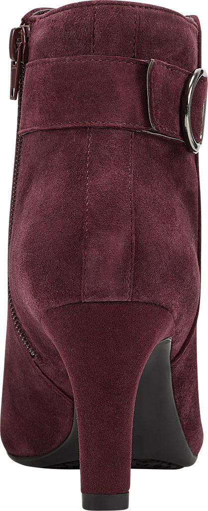 Women's Bandolino Lanna Ankle Boot, Sangria Leather, large, image 3