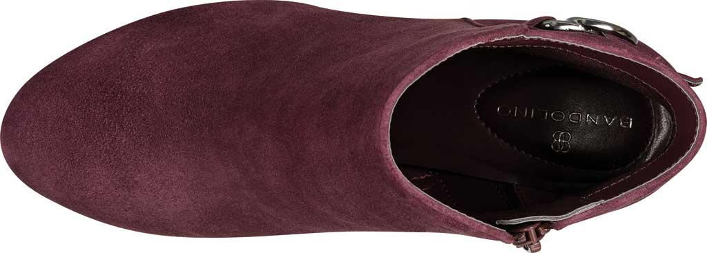 Women's Bandolino Lanna Ankle Boot, Sangria Leather, large, image 4