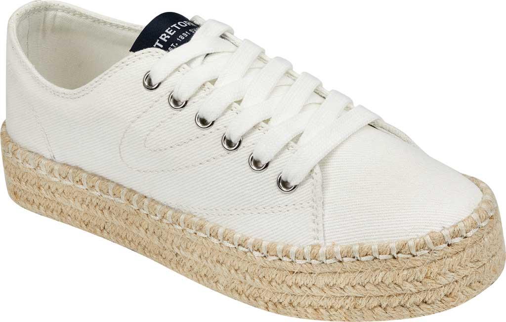Women's Tretorn Eve Espadrille Sneaker, Vintage White Denim, large, image 1