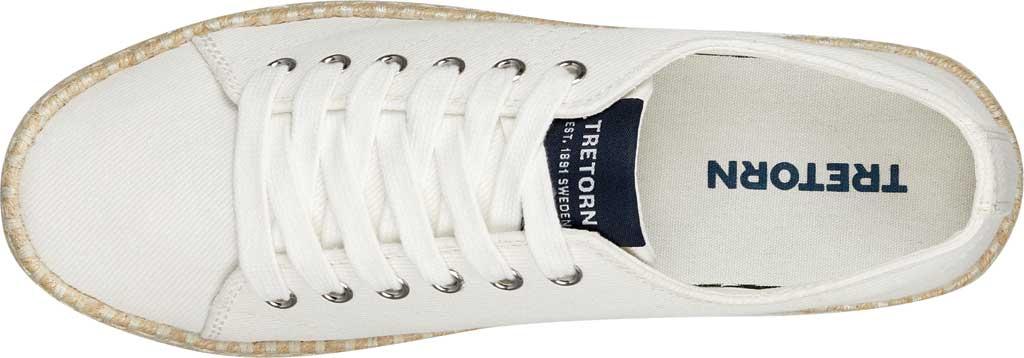 Women's Tretorn Eve Espadrille Sneaker, Vintage White Denim, large, image 4