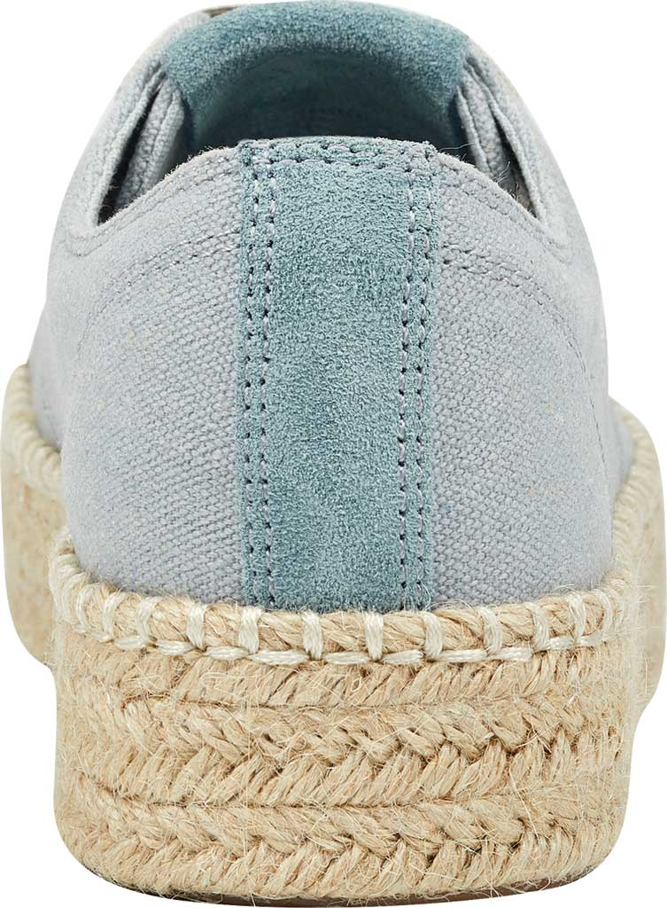 Women's Tretorn Eve Espadrille Sneaker, Ice Blue Linen, large, image 3