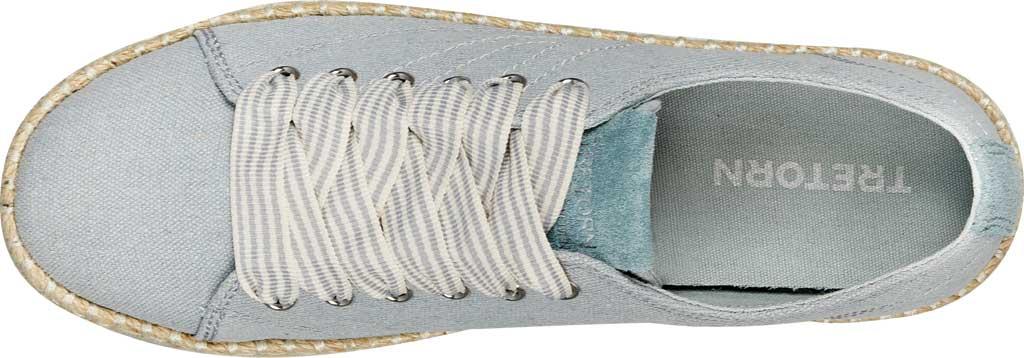 Women's Tretorn Eve Espadrille Sneaker, Ice Blue Linen, large, image 4