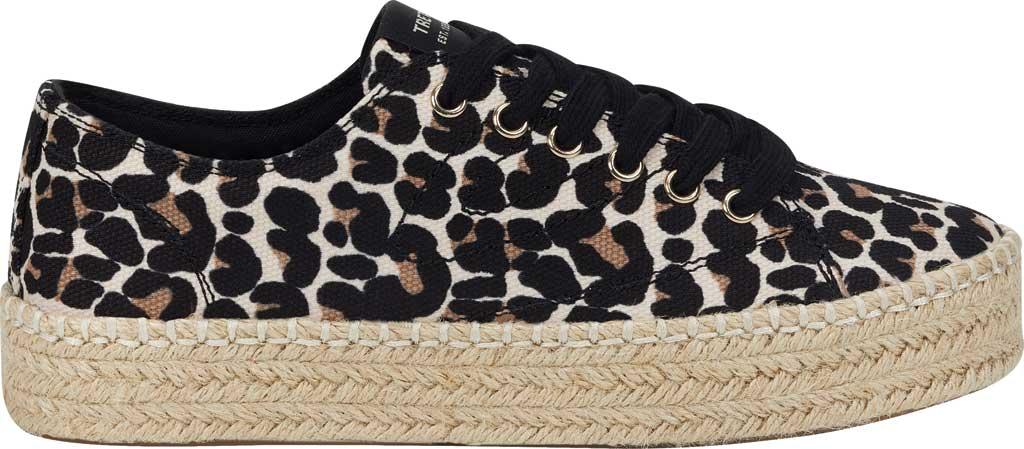 Women's Tretorn Eve Espadrille Sneaker, Sand Multi Leopard Textile, large, image 2
