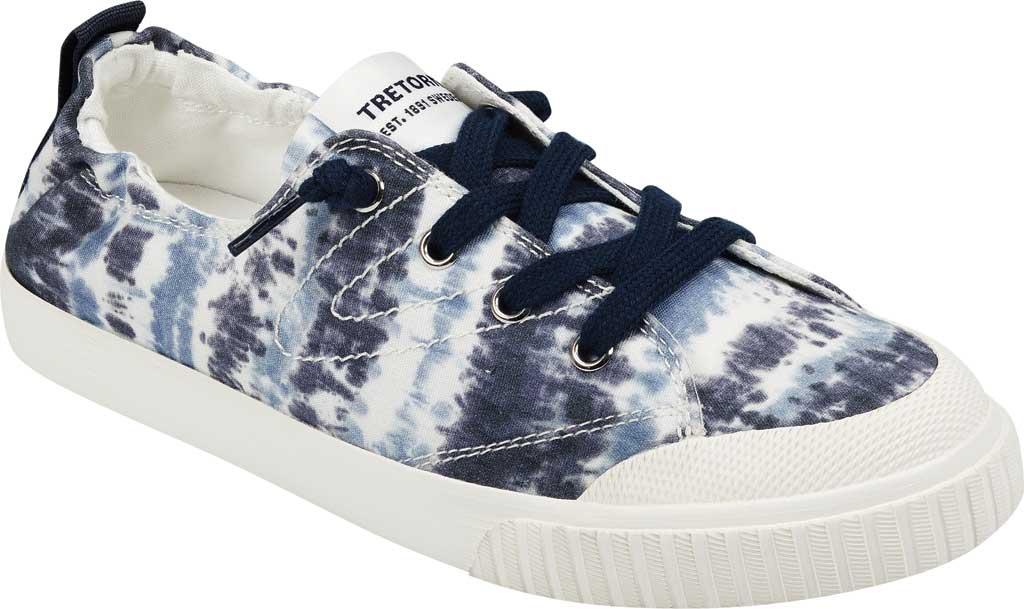 Women's Tretorn Meg8 Tie Dye Sneaker, Night/White Tie Dye Textile, large, image 1