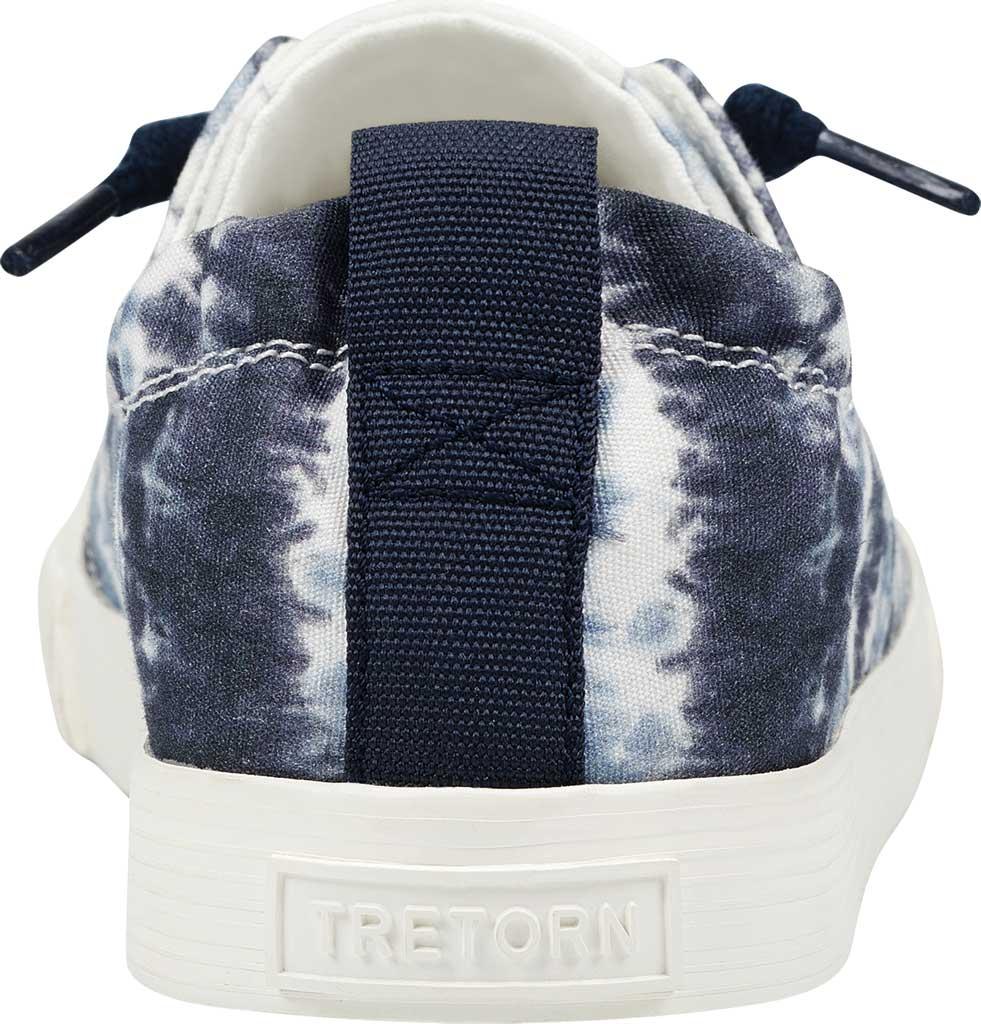 Women's Tretorn Meg8 Tie Dye Sneaker, Night/White Tie Dye Textile, large, image 3