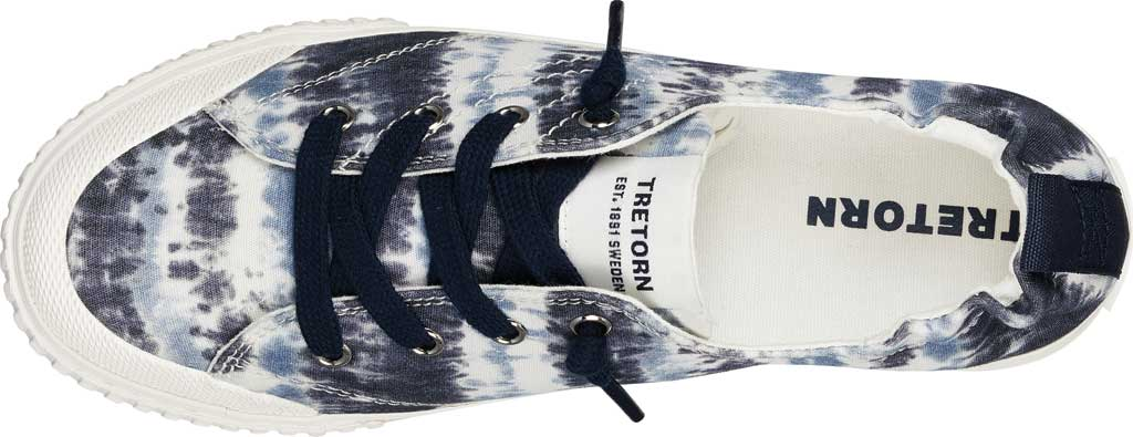 Women's Tretorn Meg8 Tie Dye Sneaker, Night/White Tie Dye Textile, large, image 4