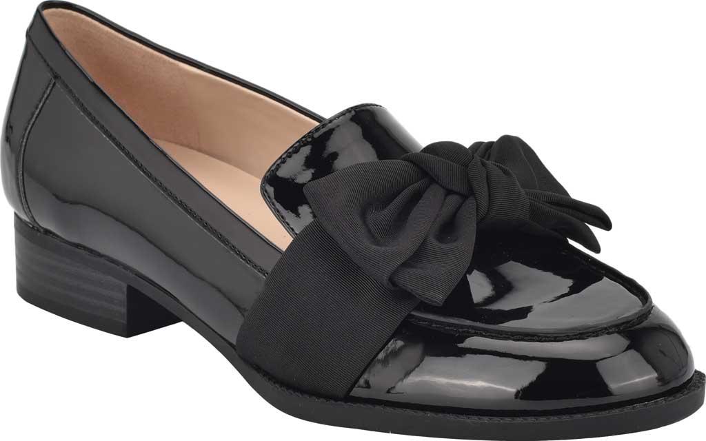 Women's Bandolino Lindio Loafer, Black Patent, large, image 1