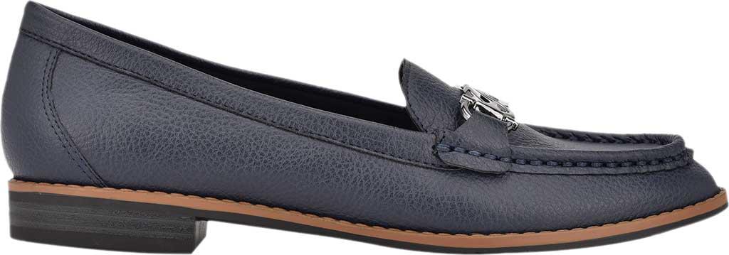Women's Bandolino Qadan Moc Loafer, Navy Nappa Leather, large, image 2