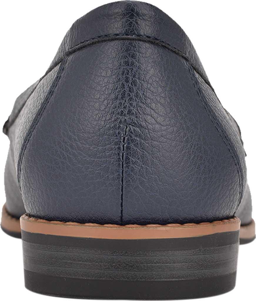 Women's Bandolino Qadan Moc Loafer, Navy Nappa Leather, large, image 3