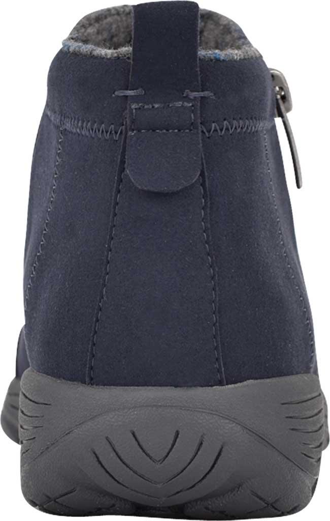Women's Easy Spirit Veer Ankle Bootie, Blue Microsuede Fiber, large, image 3