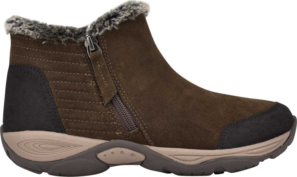 Women's Easy Spirit Elinot Ankle Bootie, Green Water Resistant Softy Suede, large, image 2