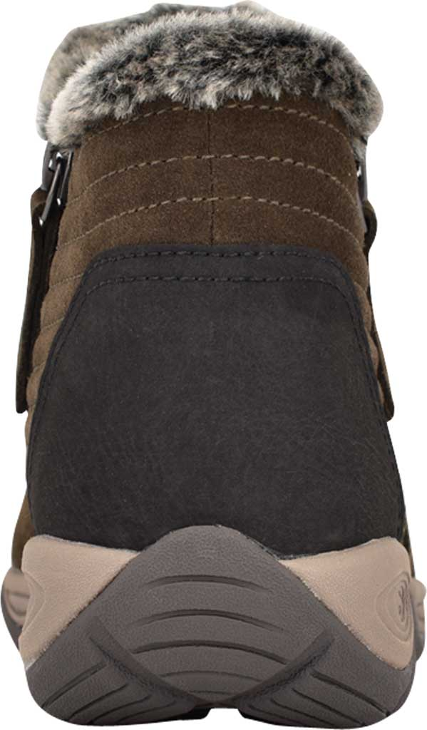 Women's Easy Spirit Elinot Ankle Bootie, Green Water Resistant Softy Suede, large, image 3
