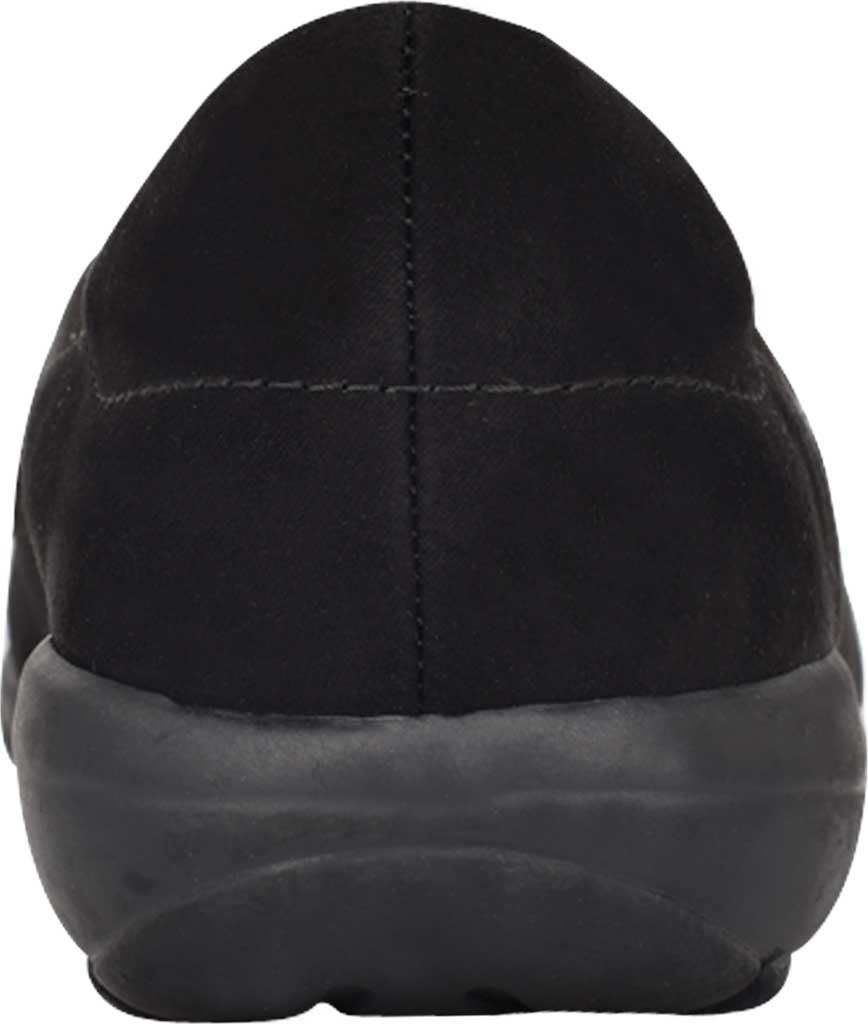 Women's Easy Spirit Abbie Loafer, Black Camoscio Suede/Havana PU, large, image 3