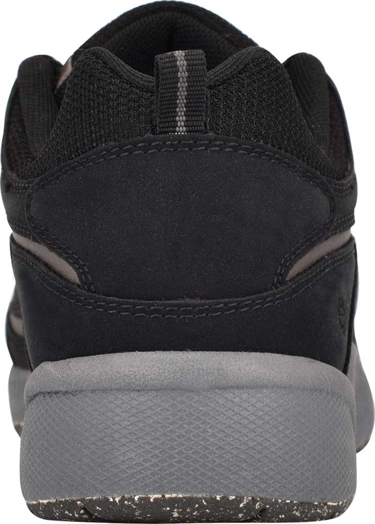 Women's Easy Spirit Romy Eco Sneaker, Black Nubuck/RPET Recycled Fabric, large, image 3