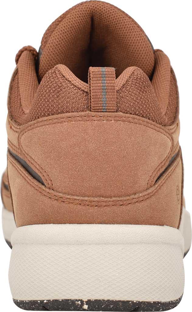 Women's Easy Spirit Romy Eco Sneaker, Medium Brown Nubuck/RPET Recycled Fabric, large, image 3
