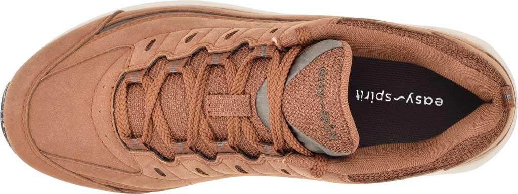 Women's Easy Spirit Romy Eco Sneaker, Medium Brown Nubuck/RPET Recycled Fabric, large, image 4