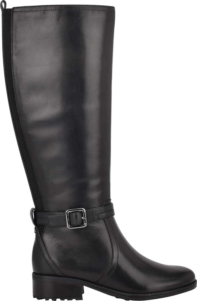 Women's Easy Spirit Reverie Wide Calf Knee High Boot, Black Nappa Calf/Nappa Calf PU, large, image 2