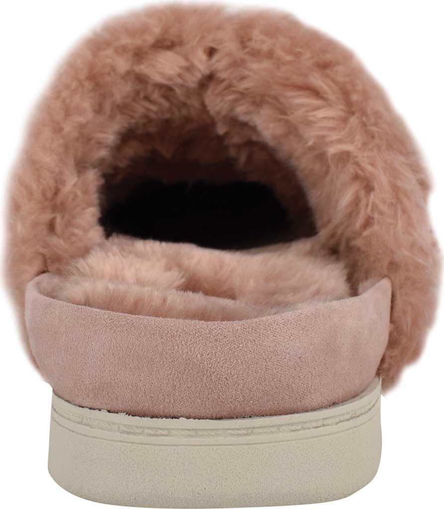Women's Easy Spirit Season Mule Slipper, Light Pink Suede/Plush Fur, large, image 3