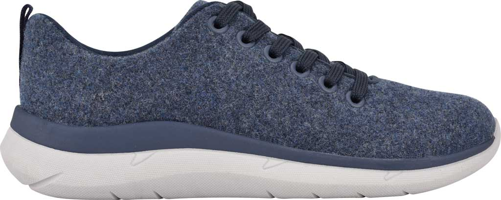 Women's Easy Spirit Skylar Sneaker, Blue Recycled Wooly Fabric, large, image 2