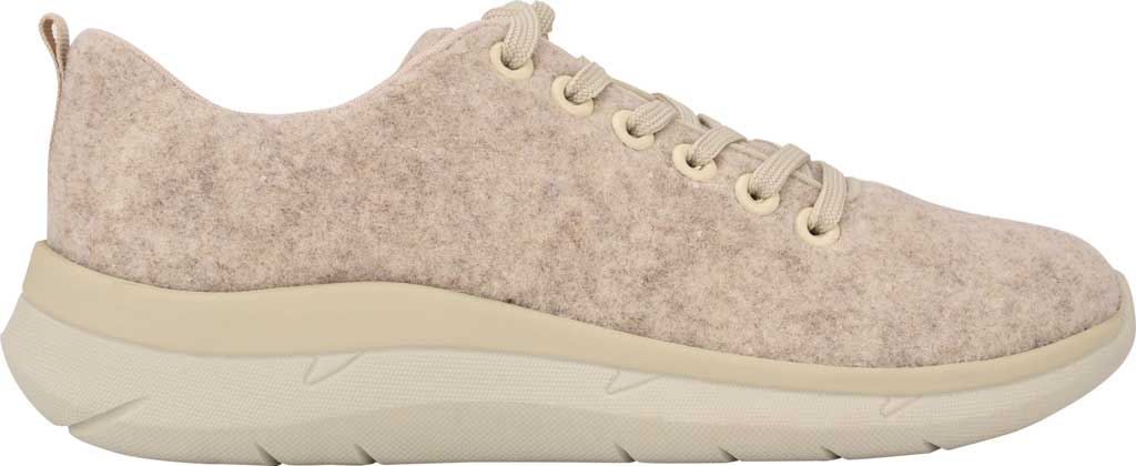 Women's Easy Spirit Skylar Sneaker, Light Natural Recycled Wooly Fabric, large, image 2