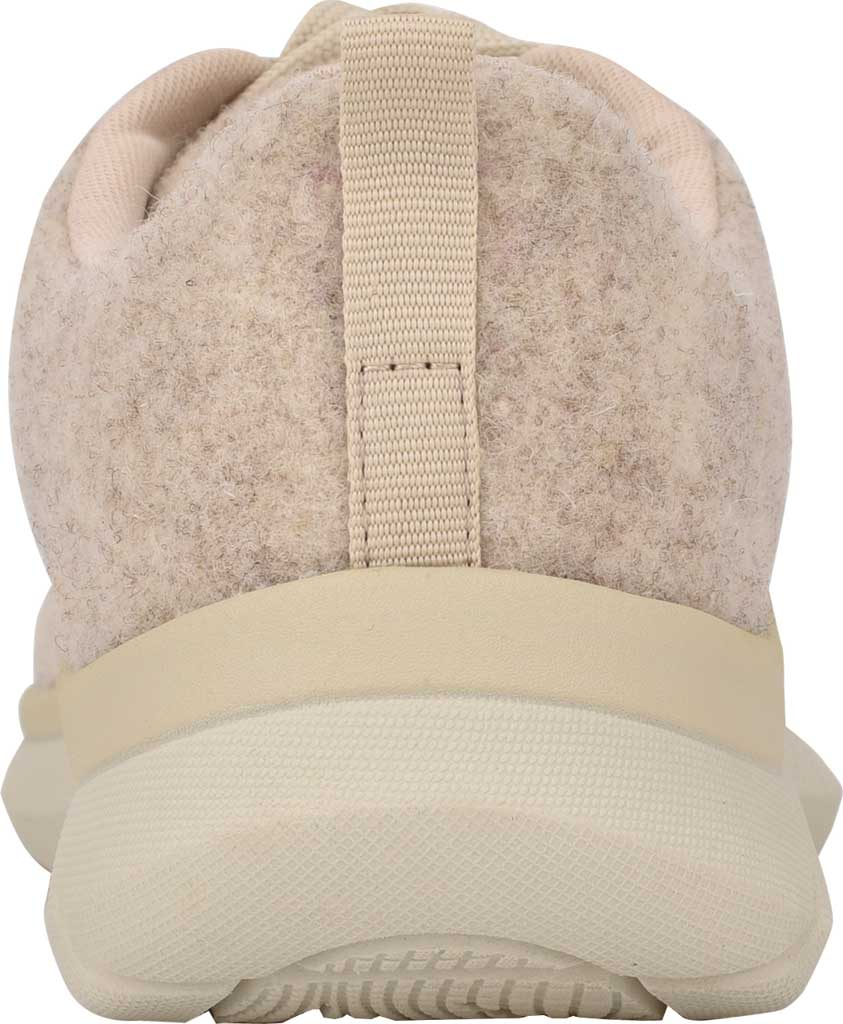 Women's Easy Spirit Skylar Sneaker, Light Natural Recycled Wooly Fabric, large, image 3