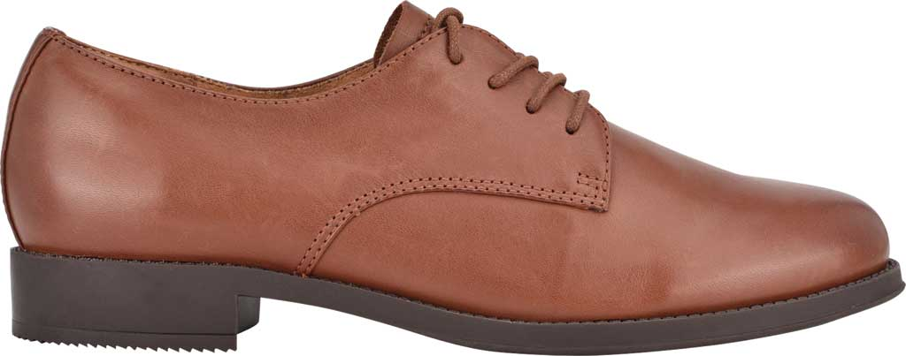 Women's Easy Spirit Rania Oxford, Brown Soft Calf Burnished, large, image 2